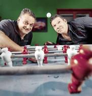 Christian Szüle et Gilles Perrin
