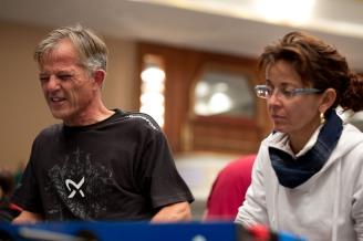 Egon Kuonen et Mirjam Caviezel