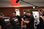 RTS filmant Christian et Gilles